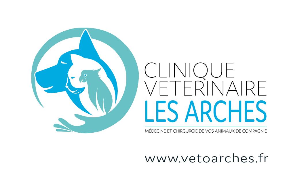CARTE DE VISITE CLINIQUE VETERINAIRE LES ARCHES