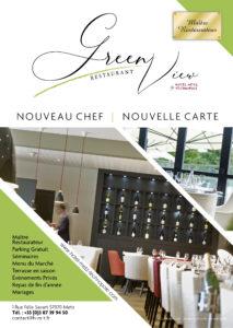 Flyer Restaurant Le Green View - Best Western Metz